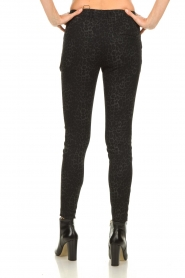 Set |  Trousers with leopard print Yara | black  | Picture 5