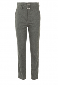 Set |  Wollen trousers Sophie | grey  | Picture 1