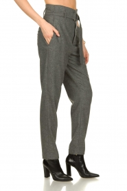 Set |  Wollen trousers Sophie | grey  | Picture 4