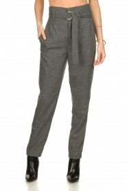Set |  Wollen trousers Sophie | grey  | Picture 2
