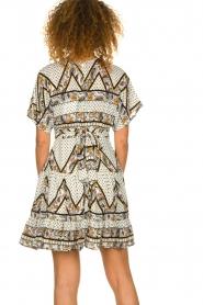 Silvian Heach |  Printed dress Yebbibu | white  | Picture 5