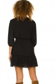 Silvian Heach |  Wrap dress Pumalanga | black  | Picture 7