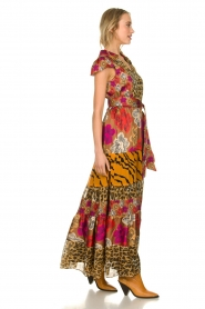 Silvian Heach |  Maxi dress with print Abbiati | multi  | Picture 4