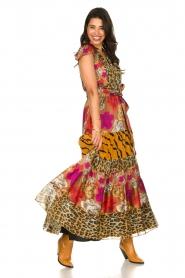 Silvian Heach    Maxi dress with print Abbiati   multi    Picture 2