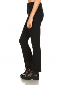 Goldbergh |  Ski pants with belt Pippa | black  | Picture 4