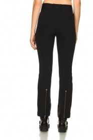 Goldbergh |  Ski pants with belt Pippa | black  | Picture 5