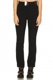 Goldbergh |  Ski pants with belt Pippa | black  | Picture 2