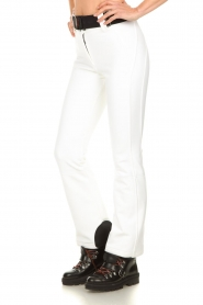 Goldbergh |  Ski pants Pippa | white  | Picture 4