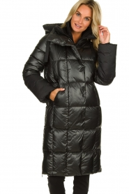 Goldbergh |  Long down jacket Gisunn | black  | Picture 6