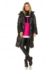 Goldbergh |  Long down jacket Gisunn | black  | Picture 3