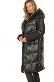 Goldbergh |  Long down jacket Gisunn | black  | Picture 4