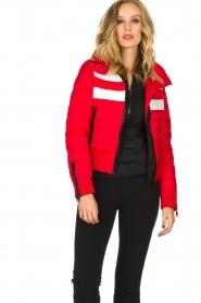 Goldbergh |  Ski down jacket Eydis | red  | Picture 2