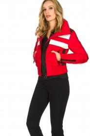 Goldbergh |  Ski down jacket Eydis | red  | Picture 4
