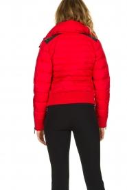 Goldbergh |  Ski down jacket Eydis | red  | Picture 5