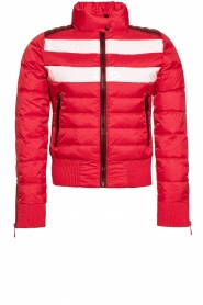 Goldbergh |  Ski down jacket Eydis | red  | Picture 1