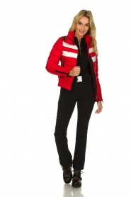 Goldbergh |  Ski down jacket Eydis | red  | Picture 3