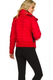 Goldbergh |  Ski down jacket Eydis | red  | Picture 5
