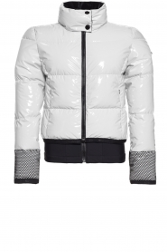 Goldbergh |  Ski jacket with down Skina | white  | Picture 1