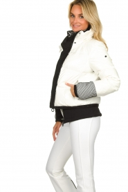 Goldbergh |  Ski jacket with down Skina | white  | Picture 5