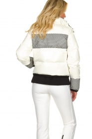 Goldbergh |  Ski jacket with down Skina | white  | Picture 6