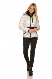 Goldbergh |  Down ski jacket Soldis | natural  | Picture 3