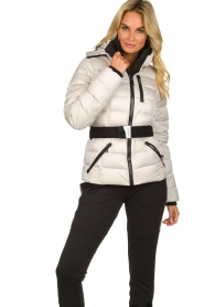 Goldbergh |  Down ski jacket Soldis | natural  | Picture 2