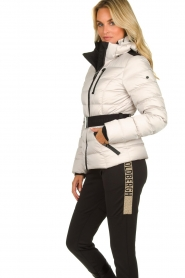 Goldbergh |  Down ski jacket Soldis | natural  | Picture 5