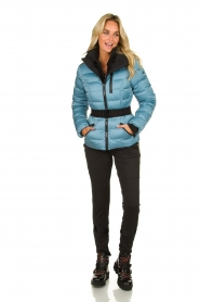 Goldbergh |  Down ski jacket | blue   | Picture 3