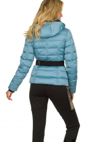 Goldbergh |  Down ski jacket | blue   | Picture 5