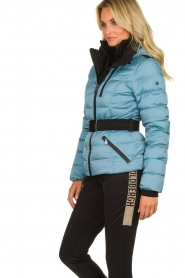 Goldbergh |  Down ski jacket | blue   | Picture 4