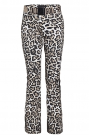 Goldbergh |  Leopard ski pants Roar | animal  | Picture 1