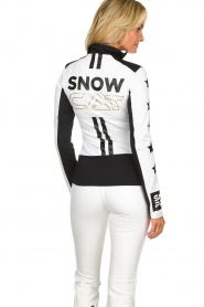 Goldbergh |  Ski pully with prints Bobcat | white  | Picture 5
