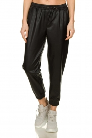Silvian Heach |  Faux leather pants Suris | black  | Picture 2