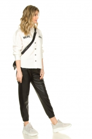 Silvian Heach |  Faux leather pants Suris | black  | Picture 3
