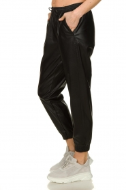 Silvian Heach |  Faux leather pants Suris | black  | Picture 4