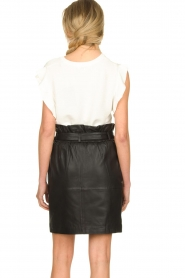 Silvian Heach |  Top with ruffles Kenema | white  | Picture 6