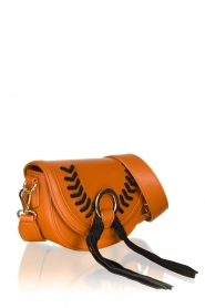 Silvian Heach : Leather bag Indi | brown - img4