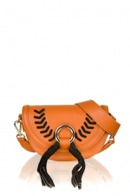 Silvian Heach : Leather bag Indi | brown - img3