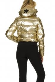 Goldbergh |  Metallic down jacket Aura | gold  | Picture 5