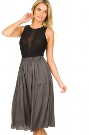 Silvian Heach    See-through body with lace Chalands   black    Picture 4