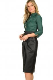 ELISABETTA FRANCHI | Faux leather body Zoella | green  | Picture 3