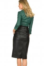 ELISABETTA FRANCHI | Faux leather body Zoella | green  | Picture 4
