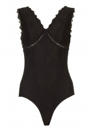 Silvian Heach |  Lace bodysuit Catagalo | black  | Picture 1