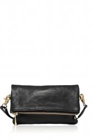 Depeche |  Leather shoulder bag Nina | black  | Picture 1
