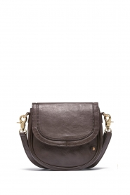 Depeche |  Leather crossbody Dina | brown  | Picture 1