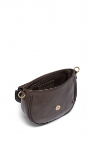 Depeche :  Leather crossbody Dina | brown - img3