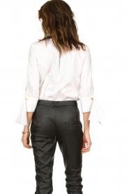 ELISABETTA FRANCHI |  Stretch blouse Frizzante | white  | Picture 5