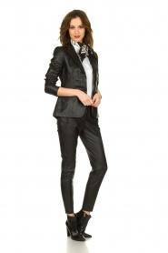 ELISABETTA FRANCHI |  Stretch blouse Frizzante | white  | Picture 3