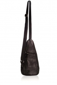 Depeche |  Leather shoulder bag Alessia | black  | Picture 5