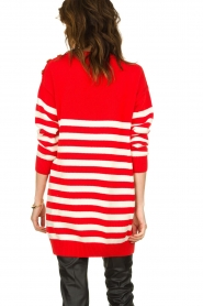 ELISABETTA FRANCHI |  Knitted dress Ancora | red  | Picture 6